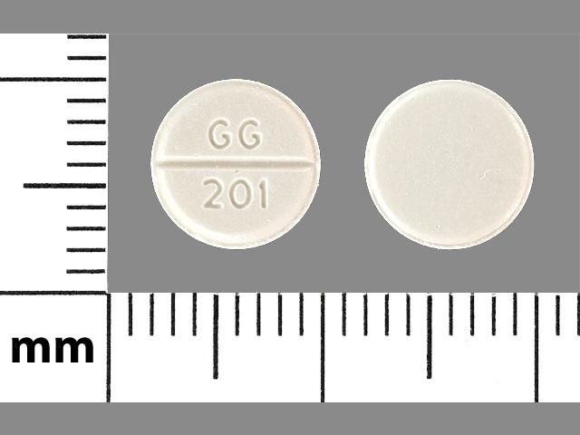 Image 1 - Imprint GG 201 - furosemide 40 mg
