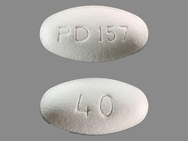 Imprint PD 157 40 - Lipitor 40 mg