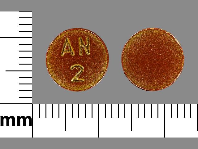 Imprint AN 2 - phenazopyridine 200 mg