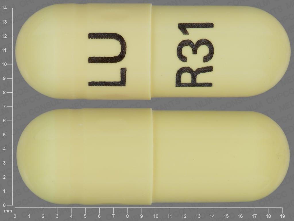Imprint LU R31 - mefenamic acid 250 mg