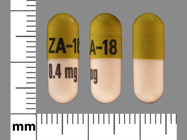 Imprint ZA-18 0.4 mg - tamsulosin 0.4 mg