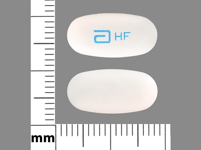 Imprint a HF - Depakote ER 250 mg