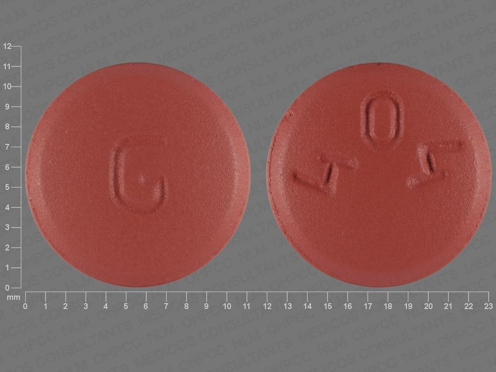 Imprint G 404 - atovaquone/proguanil 250 mg / 100 mg