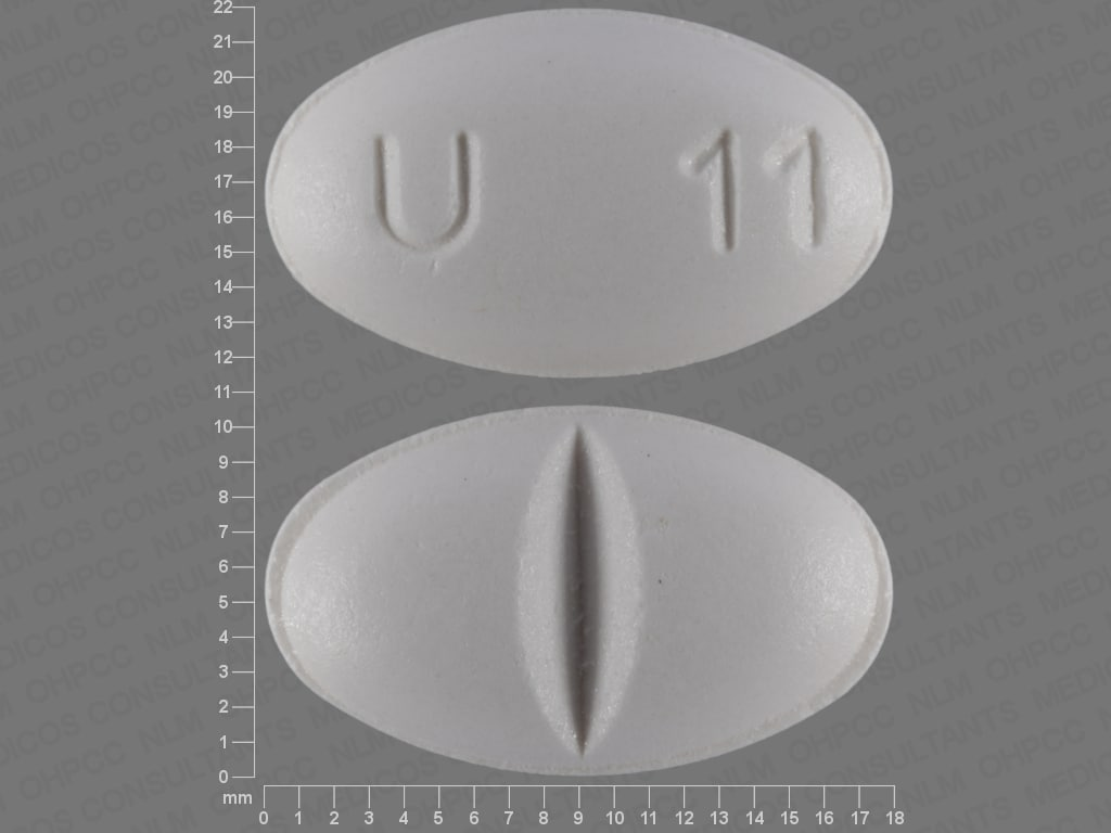 Imprint U 11 - ursodiol 500 mg