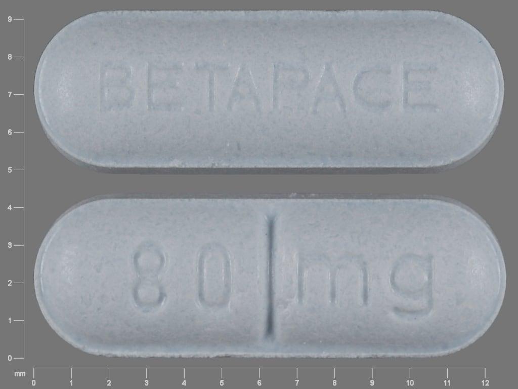 Image 1 - Imprint 80 mg BETAPACE - Betapace 80 mg