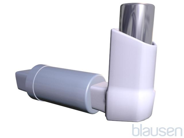 Inhaler With a Respiratory Spacer